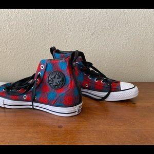 Converse x Woolrich High Top Sneakers. Men's.